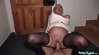 Horny BBW Alexa Bold gives up her pussy for some cash