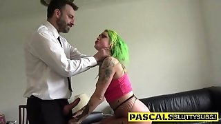 Real Bdsm MILF Gets Bootie Pounded