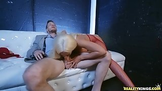 Hot Latina Babe Luna Star gives Brick Danger her VIP Booty