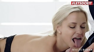 LETSDOEIT -  Exciting blond takes her secret lover's penis