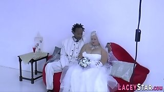 Wife Mommy Rides Black Prick - Interracial Sex