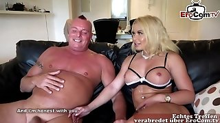 German busty lady hardcore porn video