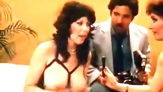 Ron Jeremy in retro movie