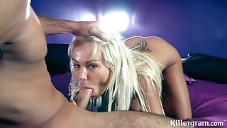 Caprice Jane Banged Hard - Hot Blonde Sex