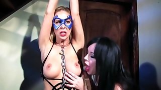 Spiderella Captured Drained By Vampirella