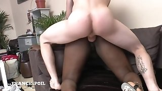 Interracial Casting Of Youmi, Big-Titted Amateur black girl