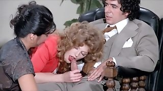Vintage group - curly hair
