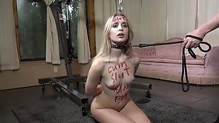 Skinny vixen Anastasia Knight BDSM porn video
