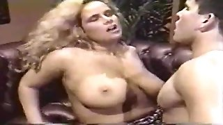 Retro big cans step sister butt fuck