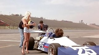 Retro racers and their fan girls in free vintage sex movie