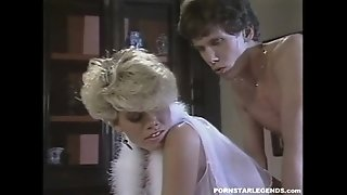 Classics porn star Gail Force gets nailed by big cock stud Tom Byron