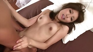 Japan hot babe gets massive facial