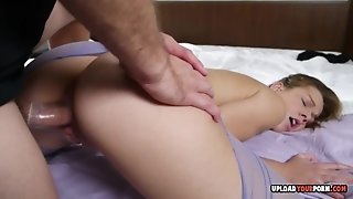 I pounded her cunt in hard fuck fashion