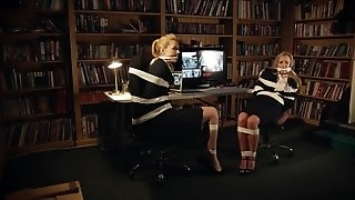 Lesbian MILF bondage hot porn video