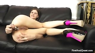 Male Pole In Tight 18Yo Bootie Hole - Anna Taylor