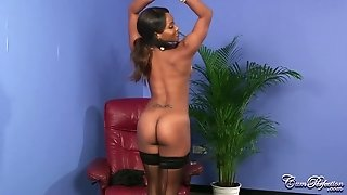 Ebony babe Kiki Minaj Sperm Perfection Treatment